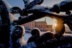 Mihaylovskiy城堡 库存图片