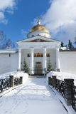 Mihaylovskiy cathedral and fortress wall Stock Images