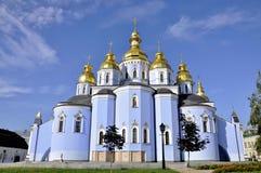 Mihaylovskiy monastery Stock Photo