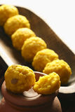 Mihidana - a gram flour based sweet from India Stock Images