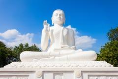 Mihintale菩萨雕象,斯里兰卡 库存图片