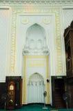 Mihrab av Sultan Abdul Samad Mosque (KLIA-moskén) Fotografering för Bildbyråer