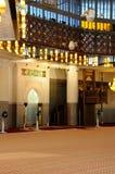 Mihrab de la mezquita nacional aka Masjid Negara de Malasia imágenes de archivo libres de regalías