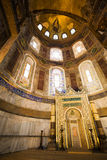 Mihrab in the Hagia Sophia Royalty Free Stock Photos