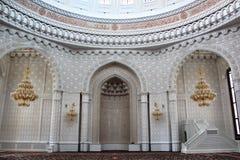 Mihrab in Heydar Mosque, Baku Lizenzfreies Stockbild