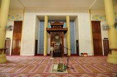Mihrab Masjid Jubel Perak sułtanu Ismail Petra a K A Masjid Pekin obrazy stock