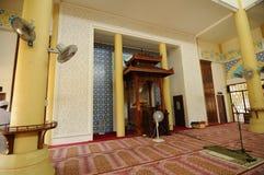 Mihrab Masjid Jubel Perak sułtanu Ismail Petra a K A Masjid Pekin obraz stock