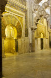 Mihrab of the Mezquita, Cordoba, Spain Stock Images