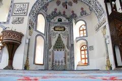 Mihrab and minbar Stock Photos