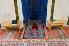 Mihrab of mosque Stock Image