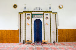 Mihrab of mosque Stock Photography