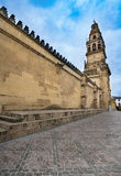 Mihrab na mesquita, Córdova, Espanha Foto de Stock