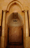 Mihrab of Putra Mosque in Malaysia Stock Image