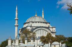 The Mihrimah Sultan Cammii mosque in Istanbul Turkey Stock Photos