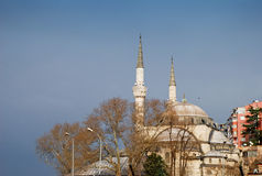 Mihrimah Sultan mosque. In Istanbul, Turkey Stock Photography