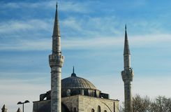 Mihrimah Sultan Mosque. Istanbul Turkey Stock Image