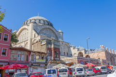 Mihrimah Sultan Mosque in Istanbul Royalty Free Stock Photo