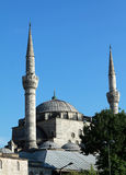 The Mihrimah Sultan Mosque (Uskudar) royalty free stock photo