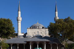 Mihrimah Sultan Mosque Royalty Free Stock Images