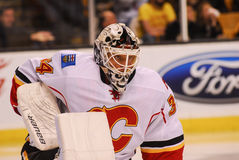 Miikka Kiprusoff Calgary Flames immagine stock libera da diritti