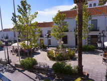 Mijas è uno di villaggi 'bianchi' più bei dell'area del sud della Spagna chiamata Andalusia Immagine Stock Libera da Diritti