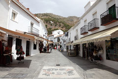 Mijas, Andalousie Espagne Photographie stock