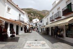 Mijas Andalusia Spanien Arkivbild