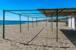 Mijas Beach Costa Del Sol Royalty Free Stock Images