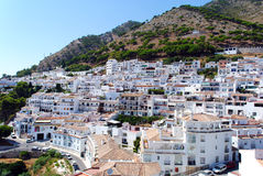 Mijas beautiful white town in Andalusia. Spain. Royalty Free Stock Photography