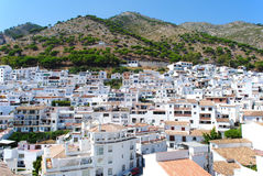 Mijas beautiful white town in Andalusia. Spain. Stock Image