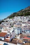Mijas-Dorf in Spanien Lizenzfreies Stockbild
