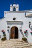 Mijas i landskap av Malaga, Andalusia, Spanien Royaltyfria Bilder