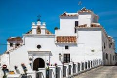 Mijas i landskap av Malaga, Andalusia, Spanien Arkivbilder