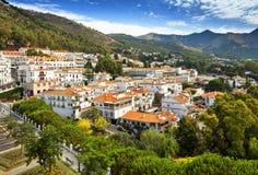 Mijas i landskap av Malaga, Spanien Royaltyfria Foton
