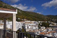 Mijas nelle montagne sopra Costa del Sol in Spagna Fotografie Stock Libere da Diritti