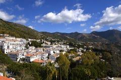 Mijas nelle montagne sopra Costa del Sol in Spagna Fotografia Stock