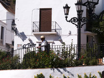Mijas is one of the most beautiful 'white' villages of the Southern Spain area called Andalucia. Royalty Free Stock Image
