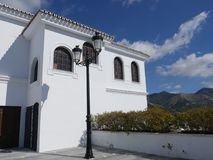 Mijas is one of the most beautiful `white` villages of the Southern Spain area called Andalucia. Stock Photo