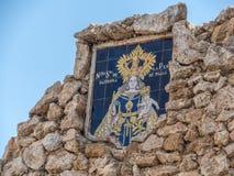 Mijas. Patrona de Mijas, Spain Andalusien, Europa royalty free stock image
