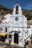 Mijas in Province of Malaga, Andalusia, Spain. Mijas in Province of Malaga, Andalusia, Spain Royalty Free Stock Image
