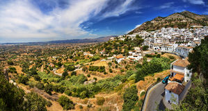 Mijas in Province of Malaga, Spain. Royalty Free Stock Image