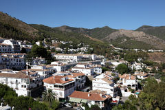 Mijas Pueblo, Andalusia Spain. Village Mijas Pueblo in Province of Malaga, Andalusia Spain Royalty Free Stock Photography