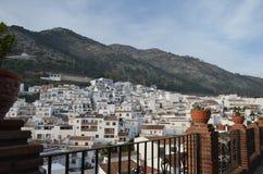 Mijas Pueblo Costa del Sol Spain. Afternoon view of the hillside village of Mijas Costa del Sol Spain Royalty Free Stock Image
