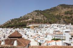 Mijas Pueblo, Spanien Arkivfoton