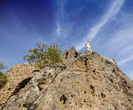 Mijas Spanje Kerk Royalty-vrije Stock Fotografie