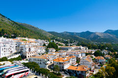 Mijas Stad in Spanje Royalty-vrije Stock Afbeeldingen