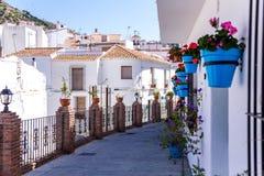 Mijas straat Royalty-vrije Stock Afbeelding