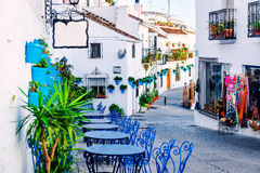 Mijas Street Stock Photos