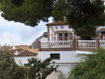 Mijas una di villaggi 'bianchi' più bei Fotografia Stock