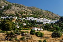 Mijas village Royalty Free Stock Photos